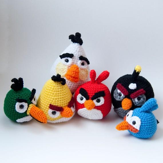 horgolt angry birds