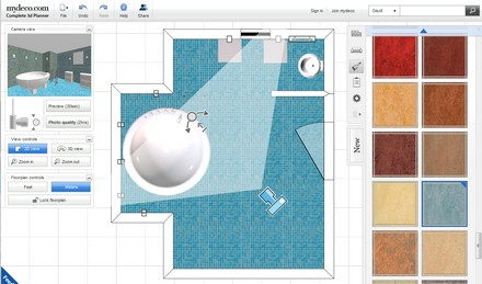 Szuper 3D fürdőszoba tervező - MyDeco